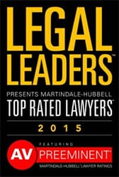 LEGAL LEADERS PRESENTS MARTINDALE-HUBBELL TOP RATED LAWYERS 2015 FEATURING AV PREEMINENT MARTINDALE-HUBBELL LAWYER RATINGS
